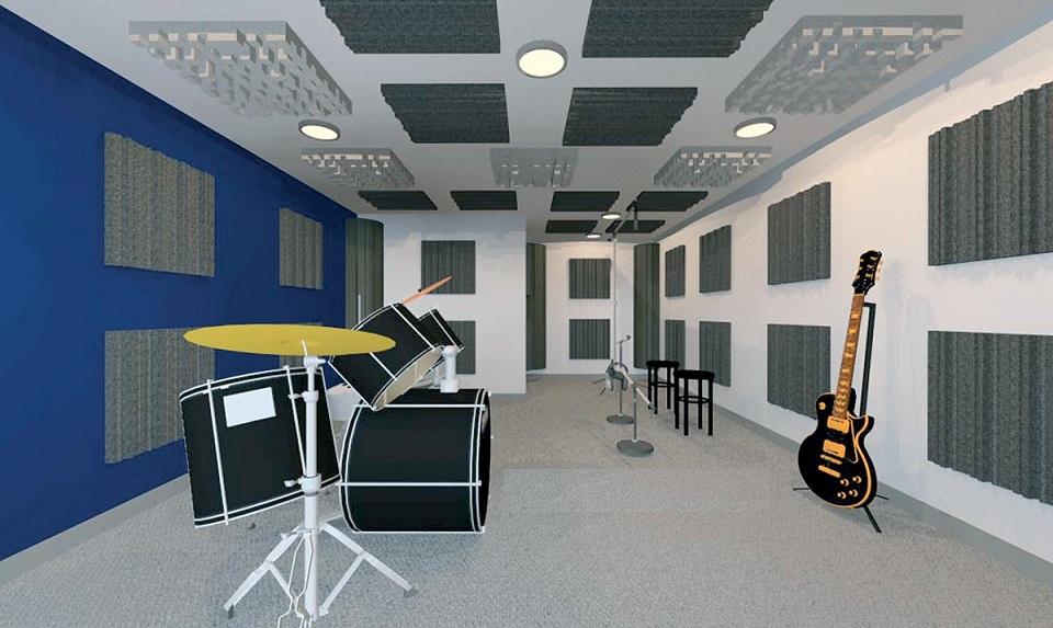 acoustique studio mousse acoustique isolation phonique traitement acoustique. Black Bedroom Furniture Sets. Home Design Ideas