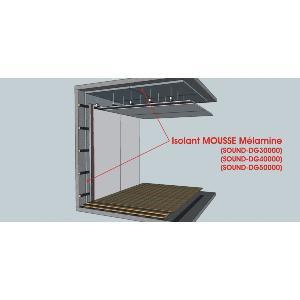 pack melamine dg 5 mur plafond. Black Bedroom Furniture Sets. Home Design Ideas