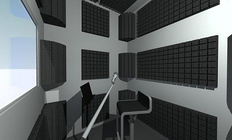 Cabine ca 3 a 5 m2 for Isolation studio musique
