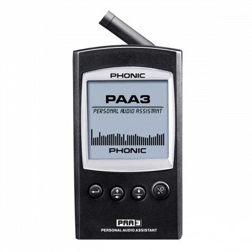 ANALYSEUR AUDIO PORTABLE PHONIC PAA3