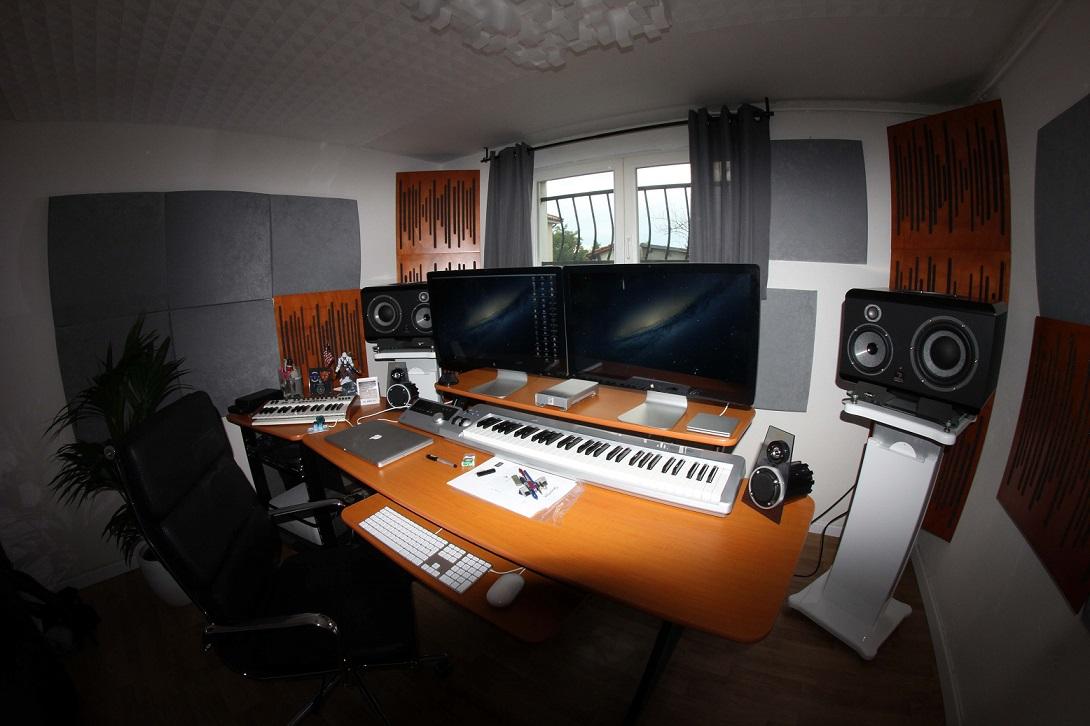 acoustique studio isolation acoustique insonorisation studio. Black Bedroom Furniture Sets. Home Design Ideas