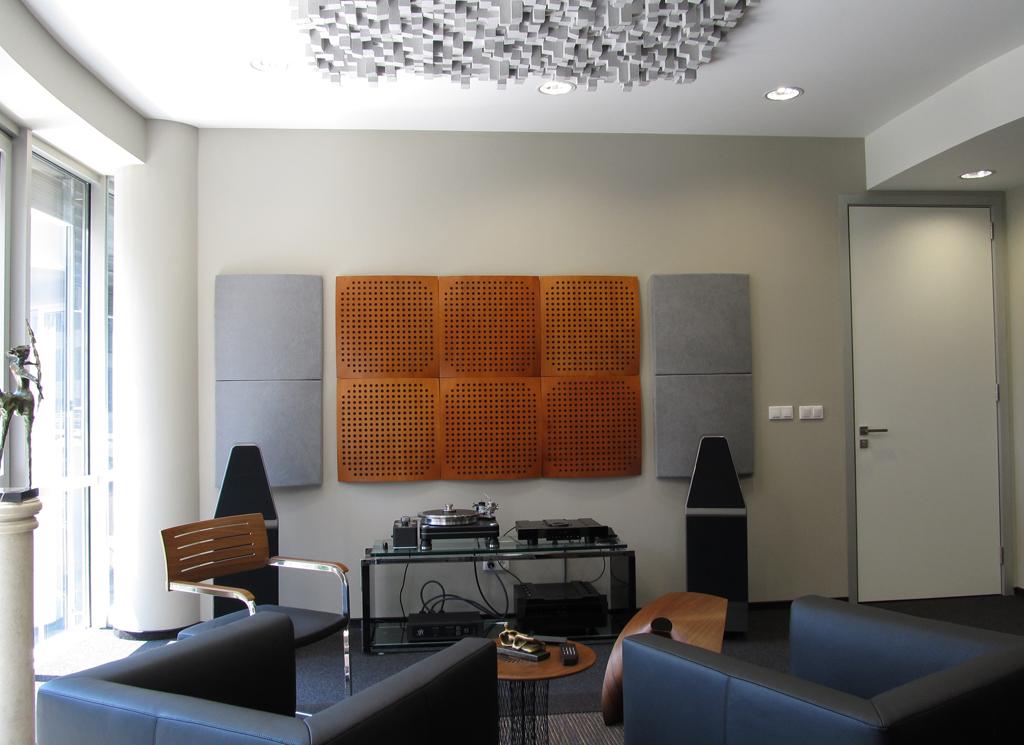 Acoustique studio mousse acoustique isolation phonique traitement acoustique - Plaque bitume isolation phonique ...